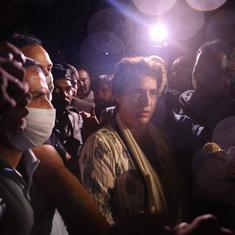 Lakhimpur Kheri violence: Priyanka Gandhi Vadra on hunger strike after UP Police detain her