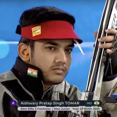 Shooting Junior Worlds: 14-year-old Naamya, world record-breaking Tomar add to India's gold tally