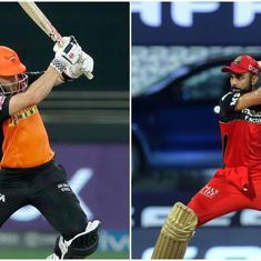 IPL 2021, RCB vs SRH as it happened: Bhuvi holds nerve as Sunrisers upset RCB's top two hopes