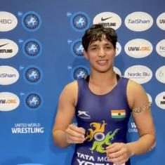 Watch: Anshu Malik on becoming India's first woman wrestler to reach the World Championships final