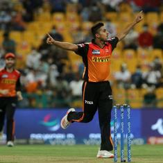 Data check: Drafted in as late addition, SRH's Umran Malik catches attention with serious pace