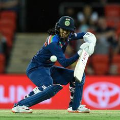 Australia vs India: Jemimah Rodrigues shines before rain forces abandonment of first T20I
