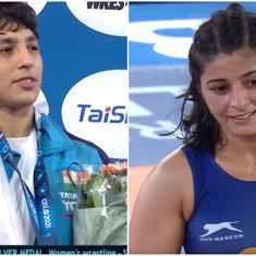 Wrestling World C'ships: Anshu Malik loses a tough final to bag silver, Sarita Mor wins bronze