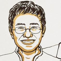 Nobel Prize for Peace awarded to journalists Maria Ressa and Dmitry Muratov