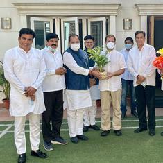 Uttarakhand minister Yashpal Arya, his son join Congress after quitting BJP