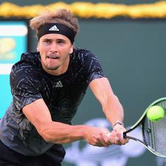 Indian Wells: Zverev sees off Murray; top-5 seeds Swiatek, Krejcikova, Svitolina out
