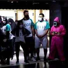 Squid Game: People play real-life version of hit show at the Korean Cultural Centre in Abu Dhabi