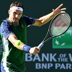 Indian Wells: US Open champ Daniil Medvedev stunned by Grigor Dimitrov in fourth round