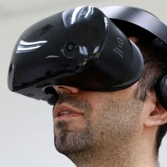 Can virtual reality be used to stop domestic violence? France wants to find out