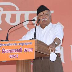 Need to regulate content on OTT platforms, says RSS chief Mohan Bhagwat