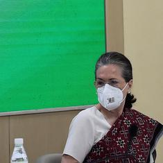 I am a 'full-time and hands-on Congress president', says Sonia Gandhi