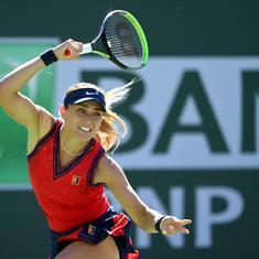 Tennis: Paula Badosa overcomes Victoria Azarenka in marathon to win Indian Wells on debut