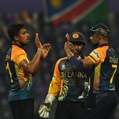T20 World Cup: Theekshana, Hasaranga help Sri Lanka beat Namibia by 7 wickets