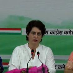 UP elections: Congress will give 40% tickets to women, says Priyanka Gandhi Vadra