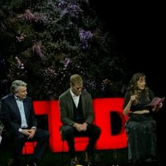 Watch: Activist grills Shell CEO Ben van Beurden on firm's role in climate change at TED conference