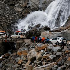 Nepal: 104 people die as heavy rain triggers landslides and flash floods