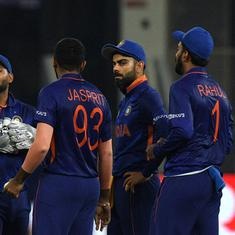 T20 World Cup: India's familiar top-order woes surface again in crunch game against Pakistan
