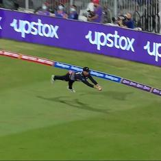 Watch: Devon Conway's jaw-dropping catch against Pakistan in the T20 World Cup