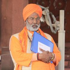 Video shows Sakshi Maharaj threatening to 'give his sins' to people if they don't vote for him