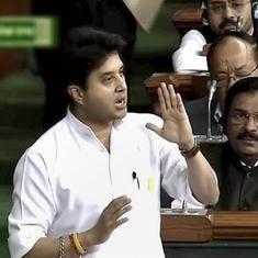 BJP names Jyotiraditya Scindia Rajya Sabha candidate from Madhya Pradesh