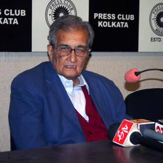 Centre is using Ram temple, cow protection to divert attention from pressing matters: Amartya Sen