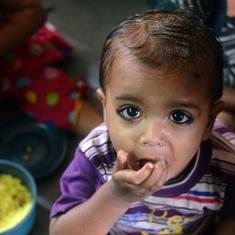 One in five Indian children aged under five is extremely underweight, shows Global Hunger Index