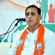 Gujarat CM says Congress is celebrating election victory like a family that had a son after years