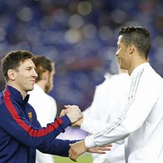 The difference with Messi is that I won the Champions League with several clubs: Ronaldo
