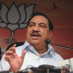 Maharashtra BJP leader Eknath Khadse quits party, to join NCP on Friday