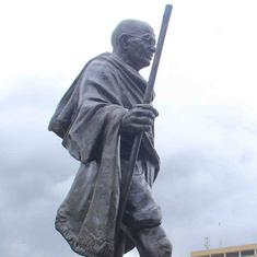 University of Ghana removes Mahatma Gandhi statue at the centre of anti-racism protests