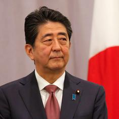 Japan is committed to making India's bullet train project a reality, says Prime Minister Shinzo Abe