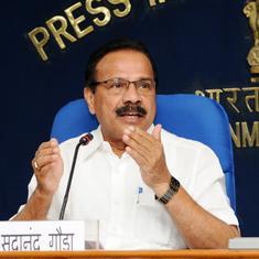 भाजपा कर्नाटक में सरकार बनाने के लिए तैयार है : सदानंद गौड़ा