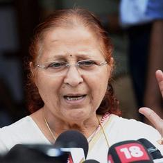'If there is anyone in BJP who can admonish me, it is Sumitra Mahajan,' says Narendra Modi