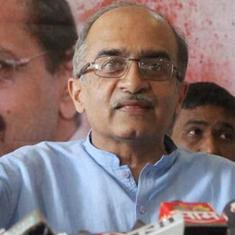 Prashant Bhushan 2009 contempt case: Supreme Court seeks attorney general's help