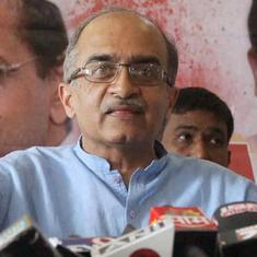 SC tells Prashant Bhushan there is a 'thin line' between contempt and freedom of speech