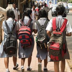 मेघालय सरकार ने कक्षाओं के अनुसार स्कूली बस्तों का वजन तय किया