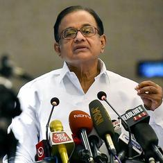 'Government's muscular approach in J&K is pushing people to militancy', says P Chidambaram