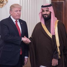 Donald Trump 'stands with' Saudi crown prince after CIA inquiry says he ordered Khashoggi killing