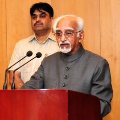 India's institutions are under 'great threat', says former Vice President Hamid Ansari