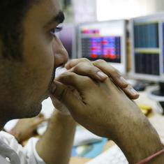 Sensex dives 554 points, Nifty down 177 points after RBI reduces repo rate