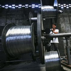 Industrial output shrinks 0.1% in March – first decline in 21 months