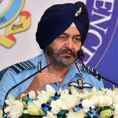 Air force chief says IAF is 'cautious and alert' to face any situation on India-Pakistan border