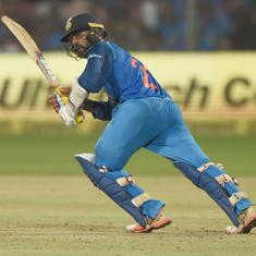 Deodhar Trophy: Karthik's fighting 99 goes in vain as India B beat India A by 43 runs