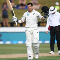 Ross Taylor's double ton powers New Zealand towards win in 2nd Test against Bangladesh