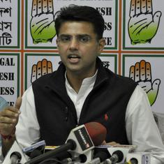 राजस्थान : कांग्रेस ने सचिन पायलट सहित सभी बागियों को अयोग्य घोषित करवाने की प्रक्रिया शुरू की