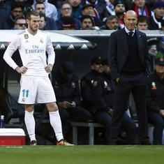 Champions League: Zinedine Zidane's Real Madrid squad to face Man City does not include Gareth Bale