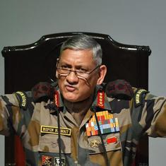 'Situation along LoC can escalate any time,' warns Indian Army chief Bipin Rawat