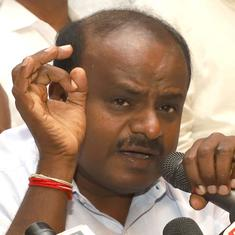 Karnataka: HD Kumaraswamy claims Congress 'creating disturbance' ahead of Lok Sabha polls