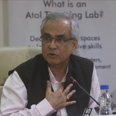 GDP back series: NITI Aayog VC defends presence at event, says organisation was asked to check data