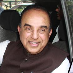 Two FIRs filed against Subramanian Swamy for allegedly saying Rahul Gandhi consumes cocaine